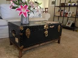 trunk coffee table diy steamer trunk coffee table diy coffee table from antique steamer