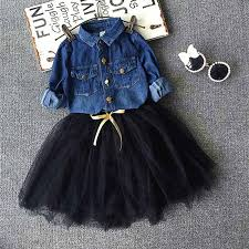 denim dress toddler fashion dresses