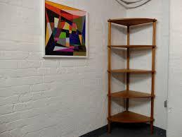 corner cabinet bookcase sold sold danish corner book shelf bookcase