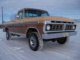 Ford F150 Truck 1970 - 76 ford f150 4x4 ranger original survivor factory a c western high