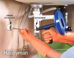 Delectable  How To Clean A Clogged Kitchen Sink Drain Design - Kitchen sink backed up