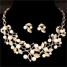 silver plated necklace images Zoshi elegant simulated pearl bridal jewelry sets wedding jewelry jpg