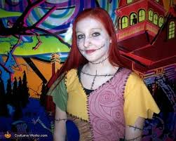 sally the nightmare before character costume photo 2 3