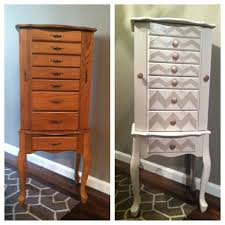 Wooden Jewelry Armoire Cabinet Outstanding Jewelry Cabinet Ideas Over The Door Jewelry