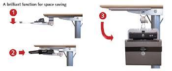 Under Desk Laptop Shelf Under Desk Laptop Holder Desk Design Ideas