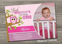 owl 1st birthday invitations iidaemilia com