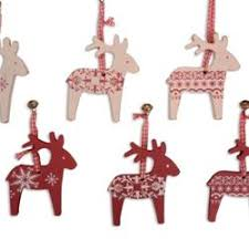 Reindeer Christmas Tree Decorations Uk by Shabby Chic Scandinavian Christmas Tree Garland Decorations