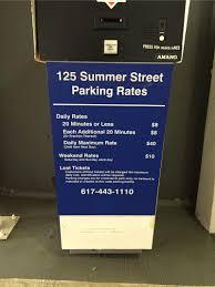 Street Parking Map Boston by 125 Summer St Garage Parking In Boston Parkme