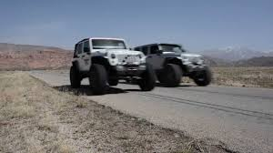 jeep hellcat custom jeep hemi jk vs ls jk drag race dakota customs and bruiser