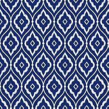 seamless indigo blue and white vintage persian ikat pattern vinyl