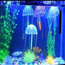 aliexpress buy glowing artificial jellyfish robo fish
