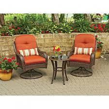 Amazon Com Patio Furniture Sets - amazon com 3piece outdoor amusing better homes and gardens outdoor