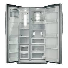 Samsung Counter Depth Refrigerator Side By Side by Samsung Rs265tdrs 25 5 Cu Ft Side By Side Refrigerator