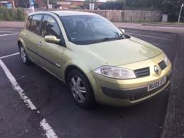 2005 green renault megane dynamique 16v 5 door 1 6 petrol in