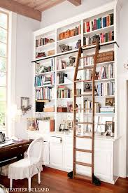 Bookcase Ladder Hardware Library Bookcases With Ladders Tidbits U0026twine