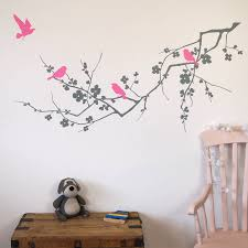 bird wall stickers birds on branch wall stickers wall stickers