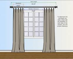 Installing Curtain Rod Window Curtains Pic Of Where To Install Curtain Rods Savae That