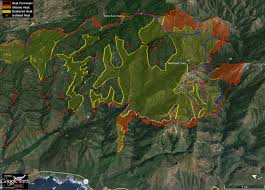 Gmap4 Wildfire Map by Soberanes Fire Day 8 7 29 16 Local Reports Bigsurkate