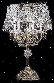 Crystal Chandelier Table Lamp Attractive Lamps And Chandeliers Design515502 Crystal Chandelier