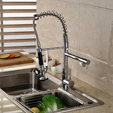 solid brass kitchen faucet discount solid brass chrome kitchen faucet spring vessel sink