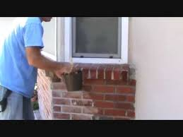 How To Paint A Brick Wall Exterior - how to apply sealer to a brick wall part 1 youtube
