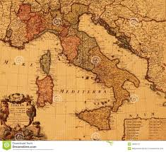 Maps Of Italy Vintage Map Of Italy Greece Map