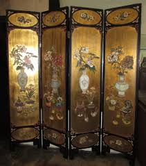Vintage Room Divider Encore Furniture Gallery Vintage Asian Chinoiserie Painted