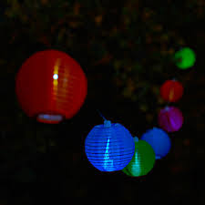 led backyard party lights home outdoor decoration