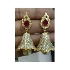 stylish earrings stylish earring earring howrah bajarangbali jewellers