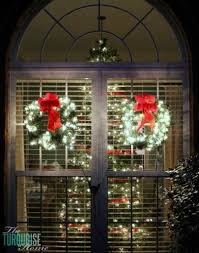 large lighted christmas bow outdoor christmas decorations ideas loccie better homes gardens ideas