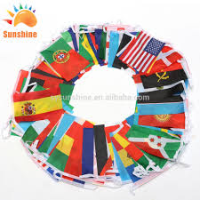International Bunting Flags Wholesale Colored String Flag Online Buy Best Colored String