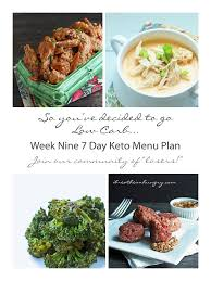 keto menu plans menu planning keto and low carb