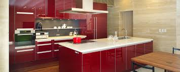design magnificent exciting dark red kitchen cabinets and red