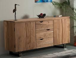 Wohnzimmerschrank Massivholz Gaya Sideboard 160x43 Cm Wohnzimmerschrank Konsole Anrichte