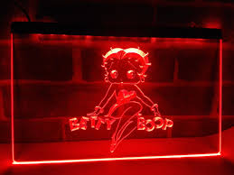 betty boop home decor aliexpress com buy lc197 betty boop led neon light sign home