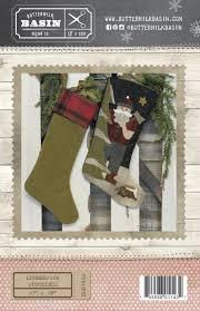 stockings wool u0026 fabric kit u0026 pattern