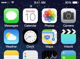 home screen icon design apple ios7 home screen ui kit sketch freebie download free