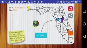 Florida Casinos Map by Florida Map Game Android Apps On Google Play