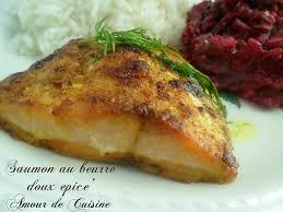cuisiner du saumon au four saumon au four au beurre d épices douces amour de cuisine