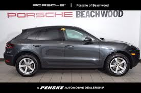 porsche macan size 2017 used porsche macan awd at penske cleveland serving all of