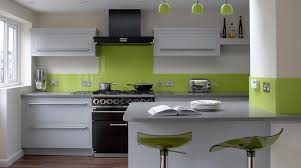 kitchen design color ideas with oak cabinets and black