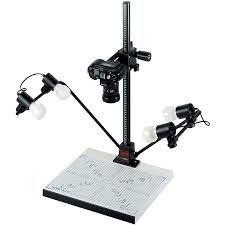 Light Source For Photo Copy Stand Led Or Fluorescent