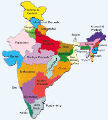 India Political Map by Map Of India Joke Satellitemaps Us