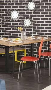 Moderner Esstisch Holz Stahl Best 25 Esstisch Holz Metall Ideas On Pinterest Metalltische