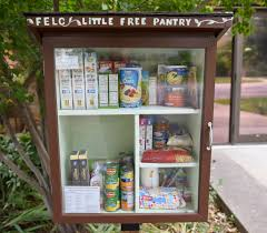 Pnatry Longmont Church Installs Little Free Pantry To Provide Community