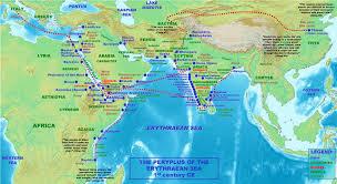 Caspian Sea World Map by Silk Road Maps