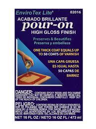 bar top sealant envirotex lite pour on high gloss finish misterart com