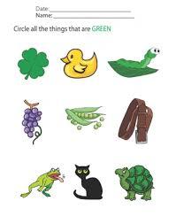 printable worksheet for 3 year olds preschool worksheets year olds color identificati on preschool