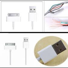50pcs 1m 3ft colorful 30pin wire usb 2 0 data sync charger cable