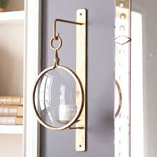 Nautical Wall Sconce Industrial Iron Wall Sconce U2013 Gold Nautical Style Sconces And